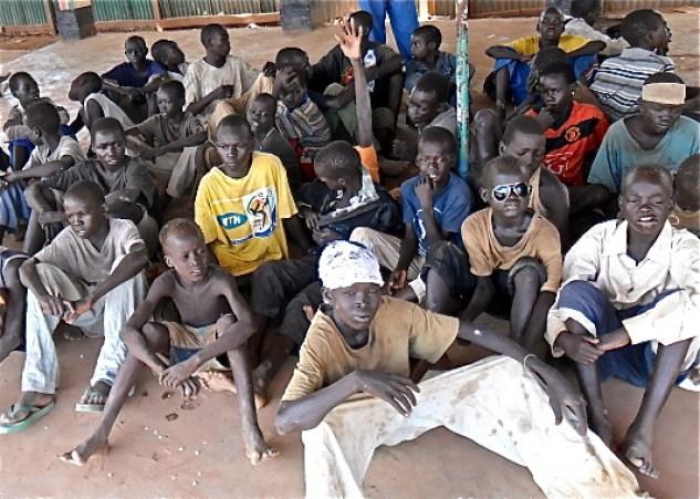 Street children in Rumbek, South Sudan(Photo credit: Courtesy image)