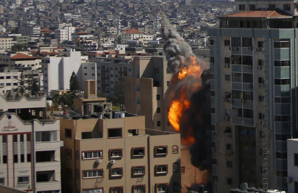 Israel storms Al Jazeera, AP media Tower In Gaza.