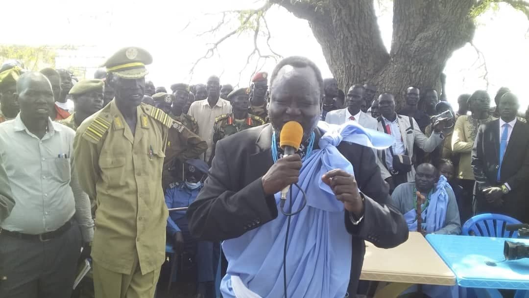 Hon. Gen. Gathoth Gatkuoth Hothnyang, Upper Nile State Minister of Local Government and Law Enforcement(Photo credit: courtesy image/Nyamilepedia)