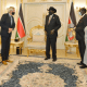 President Salva Kiir meeting the new Special Representative of UN Secretary General and the Head of UNMISS Nicholas Haysom on Wednesday, 5 May 2021(Photo credit: J1/Nyamilepedia)