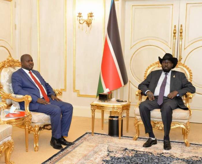 Upper Nile State Deputy Governor meets with President Kiir