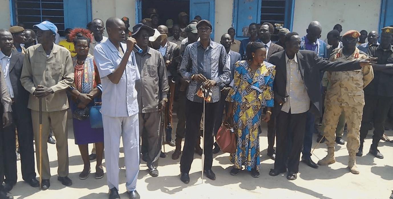 Former SPLM/A-IO Bieh State governor, Brig. Gen. Simon Hoth Duol(Photo credit: supplied)