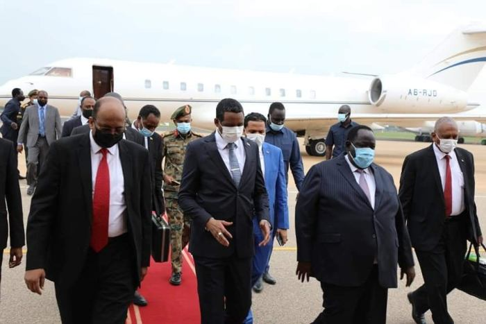 Sudanese senior military official in Juba on abrupt visit