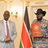 South Sudan Presidential Envoy meets President Kiir yesterday.
