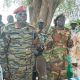 The SPLM/A-IO Sector Two commanders after redeclaring their allegiance to the SPLM/A-IO faction under the leadership of Dr. Riek Machar Teny(Photo credit: supplied)