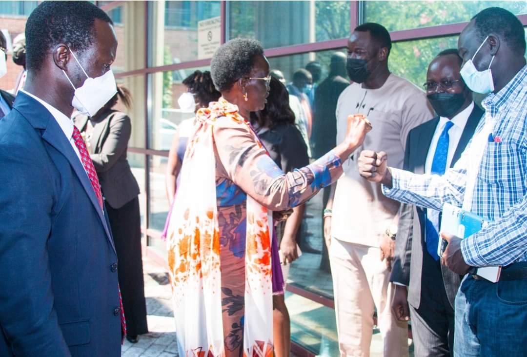 VP-GYC Nyadeng Representing South Sudan in New York