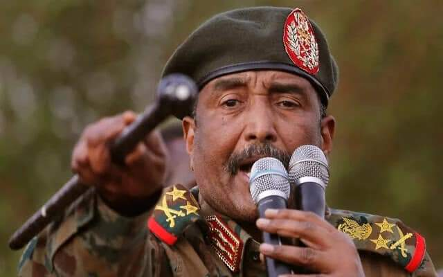 Sudan's Al-Burhan dissolves Transitional Government and declared state of emergency.