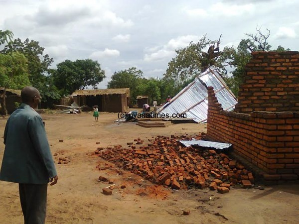 Pathetic scenes of Senda village