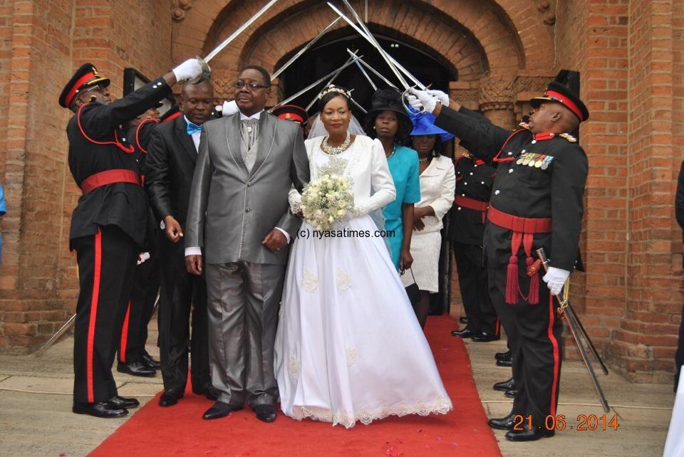 Mutharika Says Wedding Has Cleared Mysteries Malawi