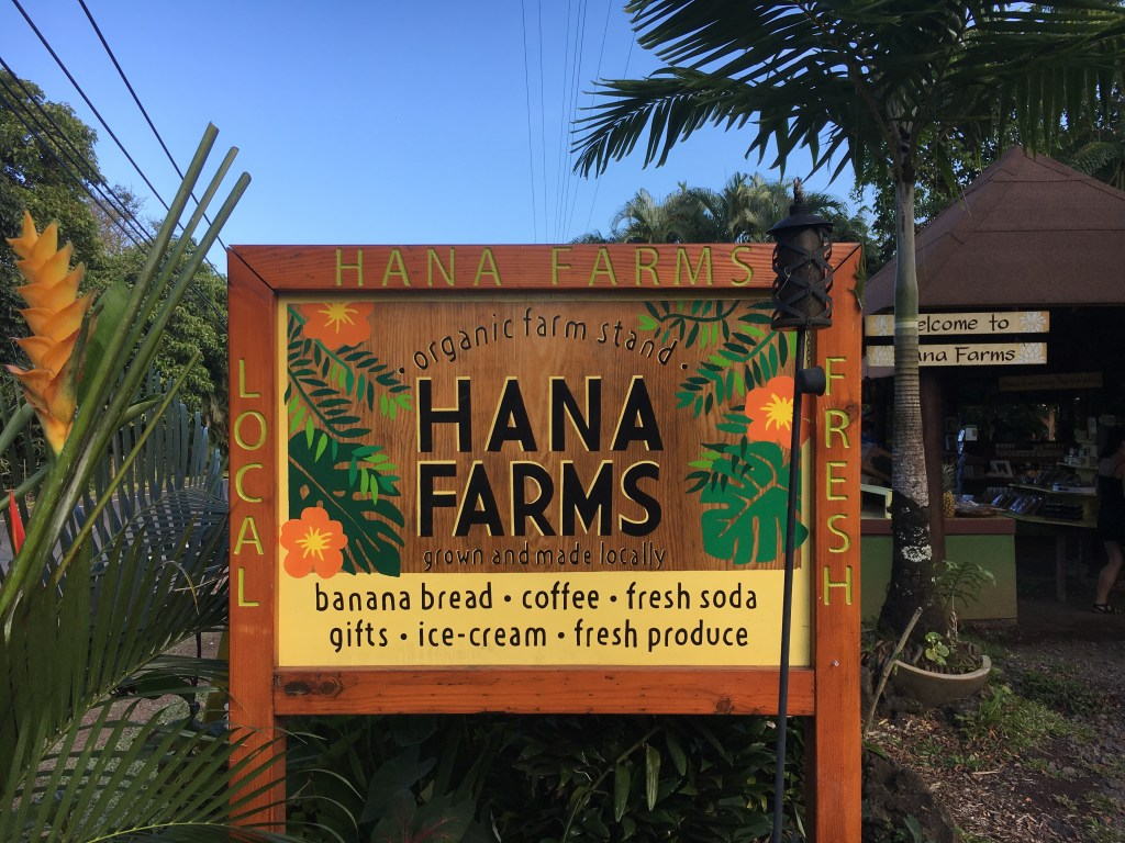 Banana bread in Maui