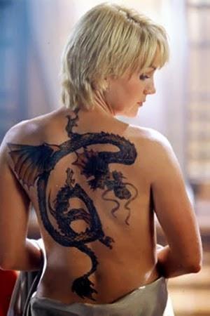Girl Dragon Tattoos 43