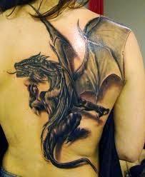 Girl Dragon Tattoos 6