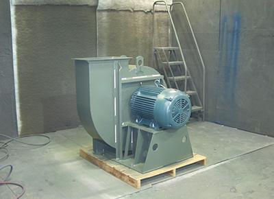 spray booth exhaust new york blower