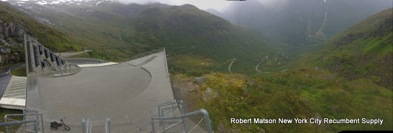 Long hairpin section of National Scenic Route 13.