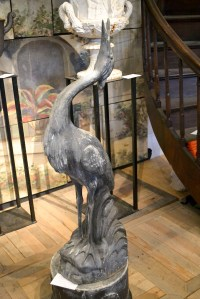 Trendspotting at the Antique Garden Furniture Show and