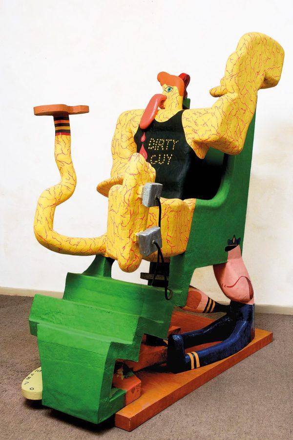 Grotesque Garish Exuberant American Art . Hoberman
