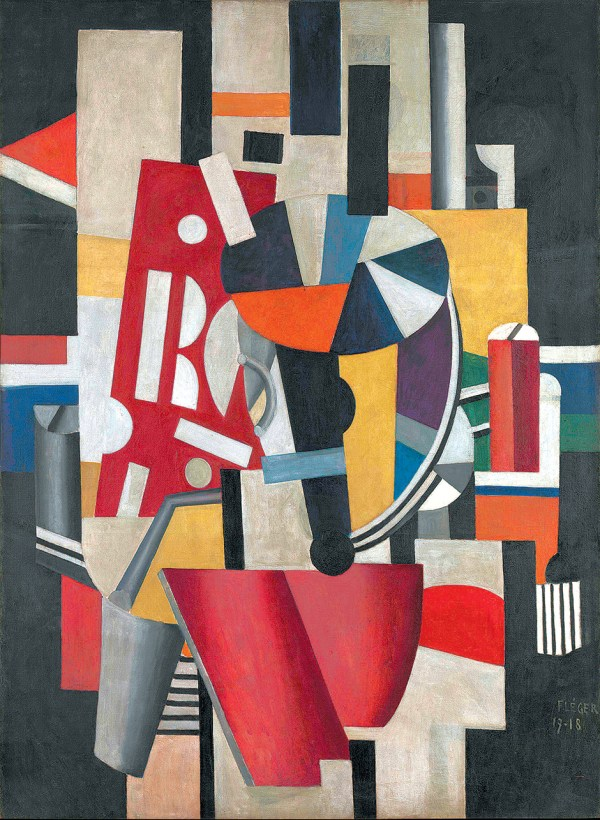 Fernand Leger Typographer the Composition