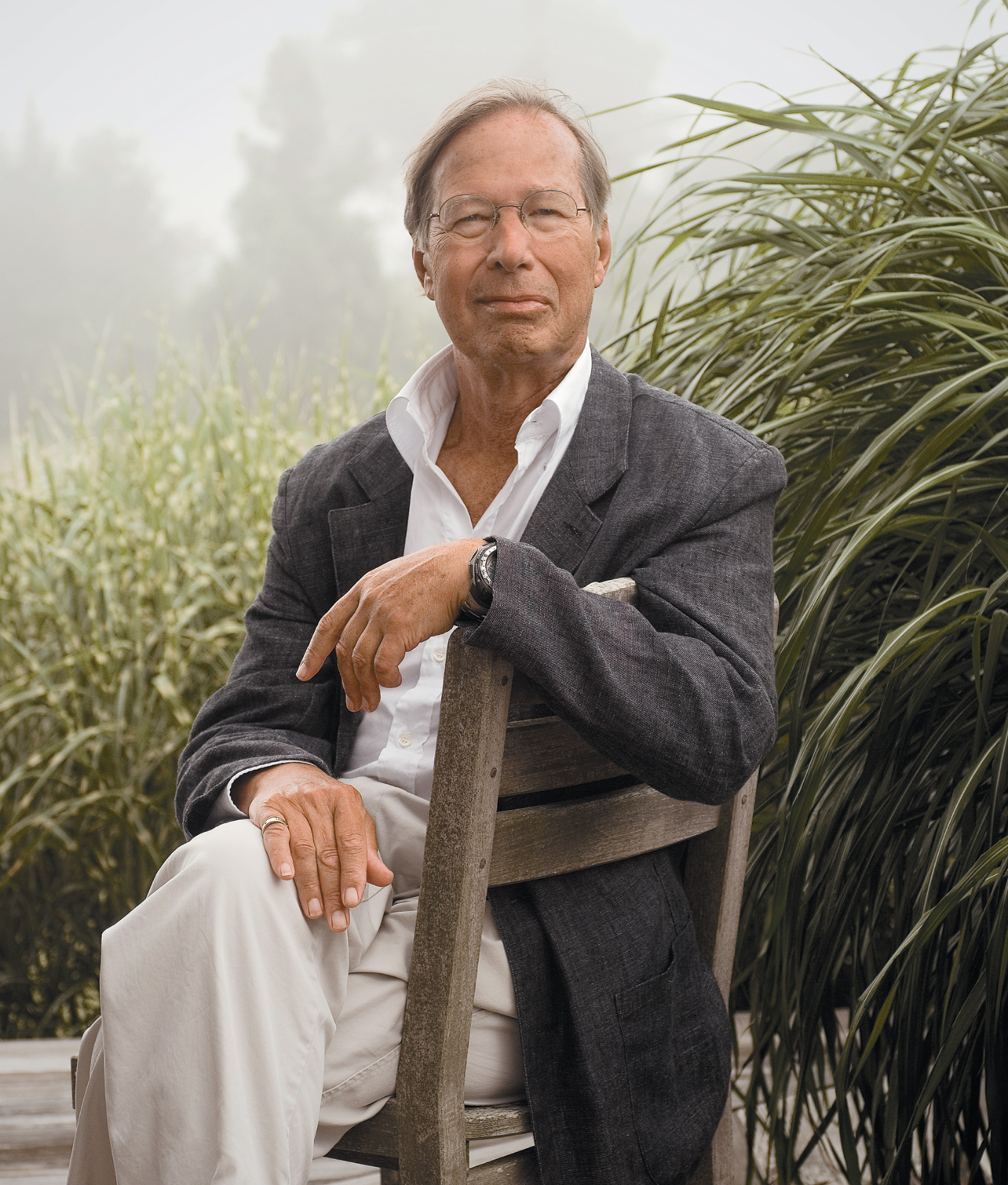 Ronald Dworkin, Martha's Vineyard, August 2005