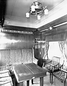 Original corporate travel experience on a private traincar