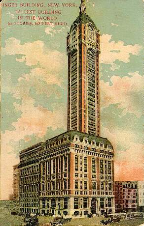 New York Architecture Images Singer Building