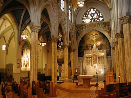 New York Architecture Images St Malachy