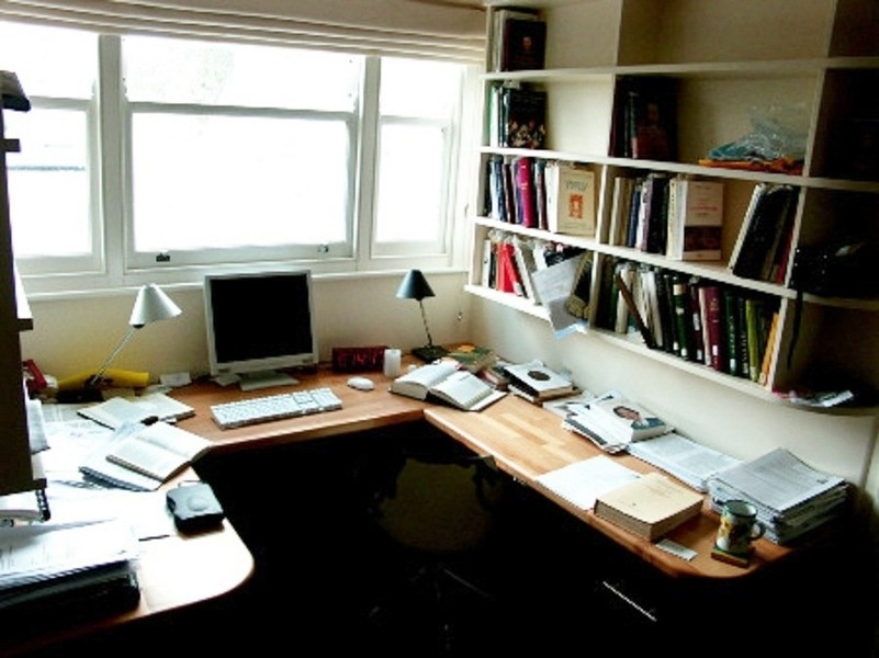 NYC Custom Home  Business Office Desks Bookcases