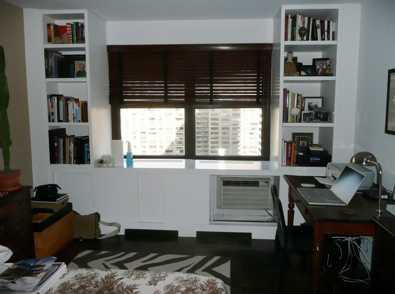 kitchen cabinet desk units cost for new cabinets nyc custom built bedroom walk-in & reach-in closets ...