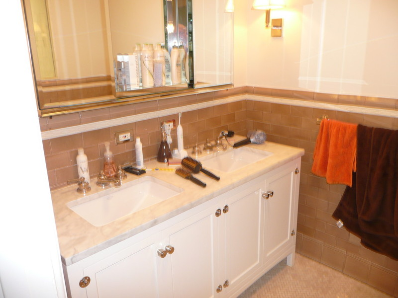NYC Custom Bathroom Vanity Cabinets Designed  Custom Made To Fit Exactly Manhattan Brooklyn