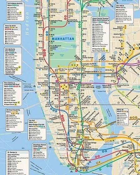 ce qu 39 il faut savoir sur le m tro new york new york city. Black Bedroom Furniture Sets. Home Design Ideas