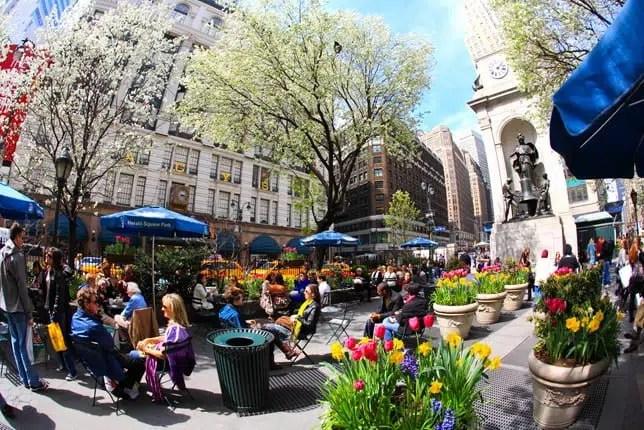 New York printemps