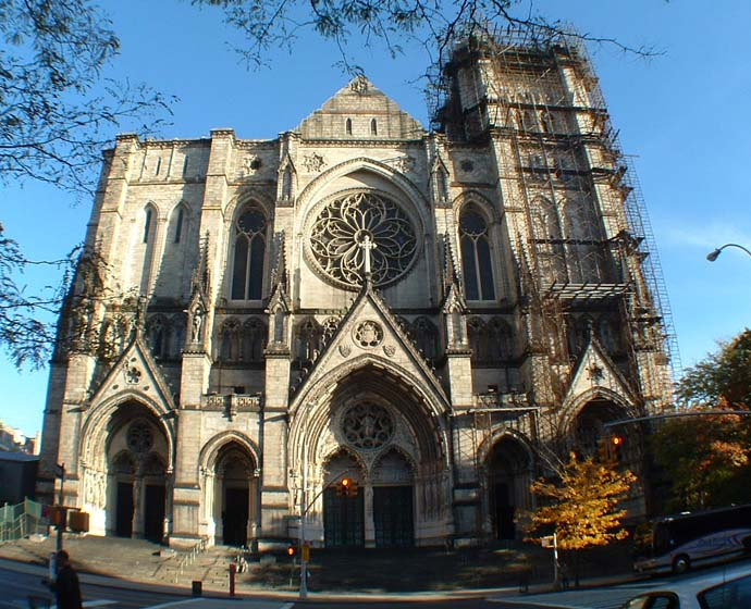 Occult Predictive Programming St John S Cathedral Nyc