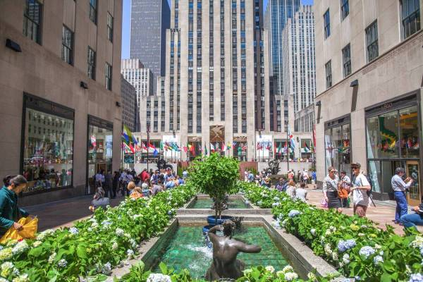 Rockefeller Center Nyc Guide Nycgo