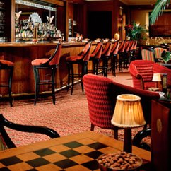 Art Deco Club Chairs Leather Swivel Bar With Backs Hotel Bars In New York City – Oak Room At The Plaza, 44 Royalton And More