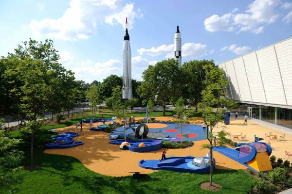 York Hall Of Science Official Guide City