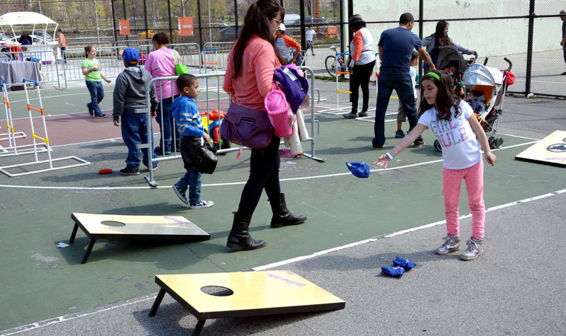 Street Games in Photos  NYC Parks