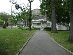 The cottage at Poe Park in the Bronx