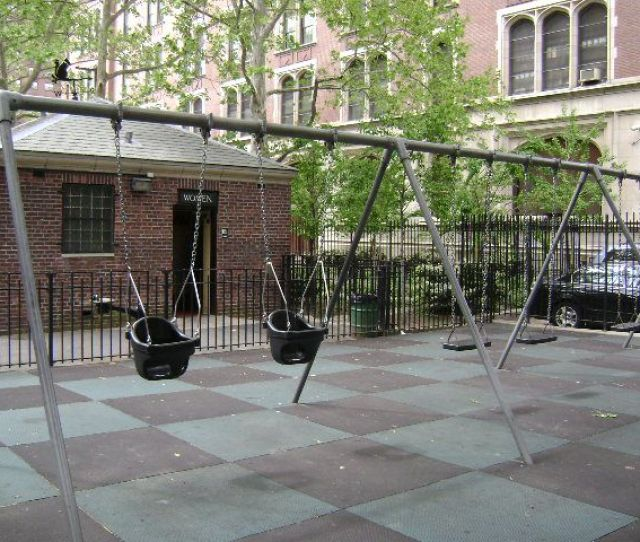 Alfred E Smith Playground Swings