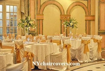 NY Chair Covers Rental 149 Wedding Linens  Sashes Rentals