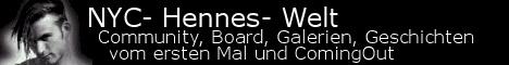 Banner auf NYC-Hennes-Welt