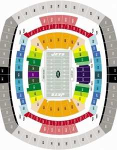 Jets stadium seating chart also new york tickets schedule metlife discount rh nycinsiderguide