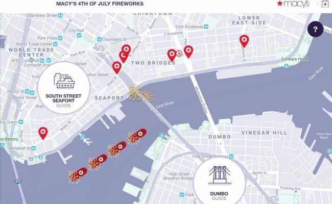 Where To Watch Macy S July 4th Fireworks In New York City 2019