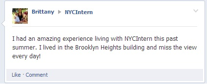 Amazing Experience with NYC Intern