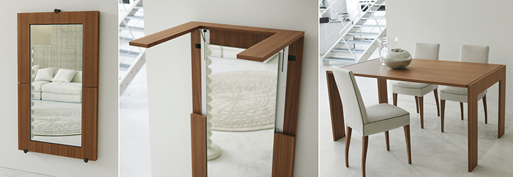 NYCITYWOMAN Double Duty Space Saving Furniture NYCITYWOMAN