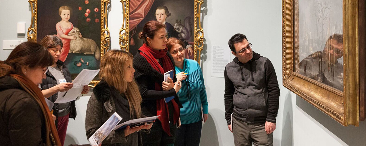 NEW AMERICANS: With our funding, the New-York Historical Society offers free classes to help green card holders prepare for the exam to become citizens. Photo by Ari Mintz for The Trust