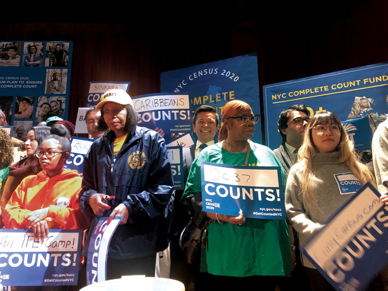 An event for NYC Counts