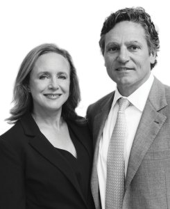 Portrait of Jennifer and Jonathan Allan Soros