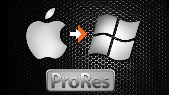 apple supports prores on windows