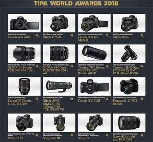 Best Photo Gear of 2018