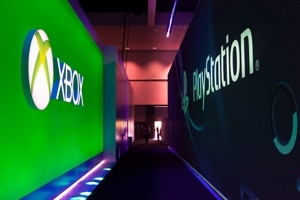 xbox playstation convention booths