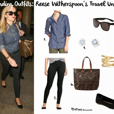 Outstanding Outfits: Reese Witherspoon's Travel Uniform